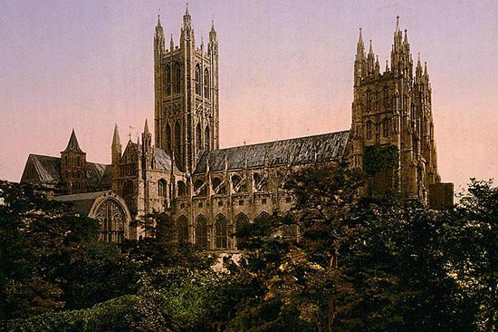 Canterbury Cathedral Church of England 1890 Holiday Parks in Kent at Margate holiday parks